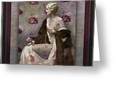 Ziegfeld Girl Greeting Card