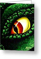 'zilla's Eye On You Greeting Card