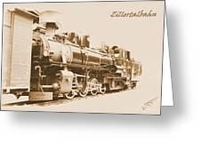 Zillertal Railway Greeting Card