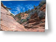 Zion Beauty Greeting Card