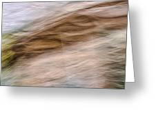 Zion Fall Abstract Greeting Card
