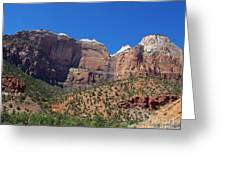 Zion National Park 3 Greeting Card