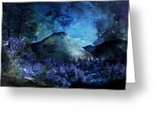 Zion Nights Greeting Card