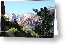 Zion Park Majestic View Greeting Card