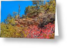 Zion Reds Greeting Card
