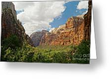 Zion Valley Greeting Card