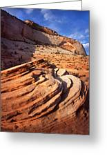 Zion Wall Arch Greeting Card