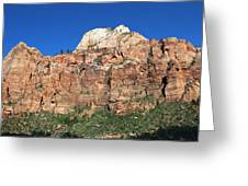 Zion Wall Greeting Card