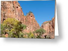 Zion Walls Greeting Card