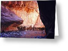 Zions 047 Greeting Card