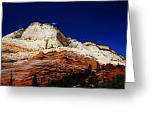 Zions Mount Greeting Card