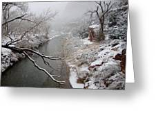 Zion's Virgin River Greeting Card