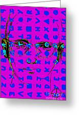 Zodiac Killer With Code And Sign 20130213m180 Greeting Card