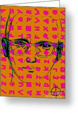 Zodiac Killer With Code And Sign 20130213m80 Greeting Card