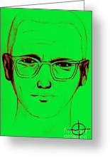 Zodiac Killer With Sign 20130213 Greeting Card by Wingsdomain Art and Photography