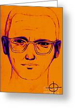 Zodiac Killer With Sign 20130213m98 Greeting Card