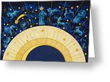 Zodiac Moon Greeting Card