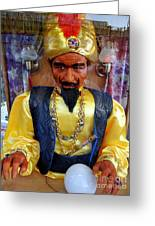 Zoltar Greeting Card