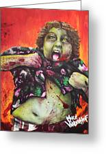 Zombie Chunk Greeting Card