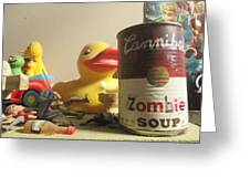 Zombie Soup Greeting Card