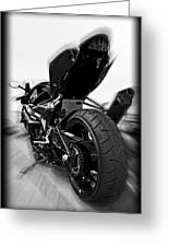 Zoomed Gsxr Greeting Card