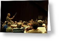 Zubin Mehta Israeli Philharmonic  Greeting Card