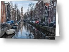 Zuiderkerk Amsterdam Greeting Card