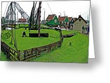 Zuiderzee Open Air Musuem In Enkhuizen-netherlands Greeting Card