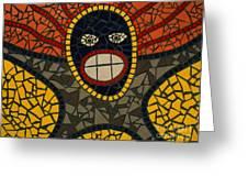Zulu Man Greeting Card