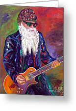 Zz Top 1 Greeting Card