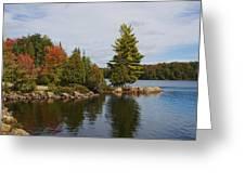 Algonquin - Canoe Lake Greeting Card