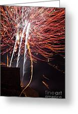 Bastille Day Fireworks Greeting Card