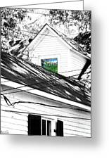 Beauregard Attic Baton Rouge Greeting Card
