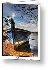 Blues - Boat Greeting Card