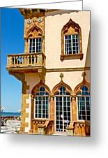 Ca D Zan  Winter Home Of John And Mable Ringling Greeting Card