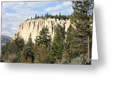 Canadian Rocky Mountain Hoodoos Bc Greeting Card