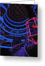 Carnival Atrium Greeting Card
