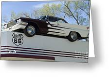 Route 66 De Soto  Greeting Card