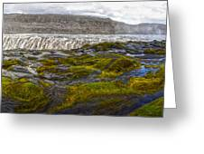 Detifoss Waterfall In Iceland - 03 Greeting Card