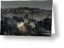 Dracula's Castle Greeting Card