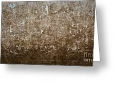 Grunge Concrete Wall Texture Greeting Card