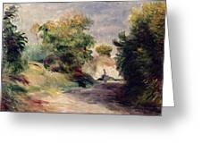 Landscape Near Cagnes Greeting Card