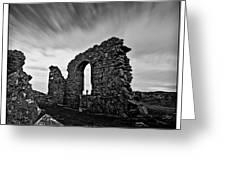 Llanddwyn Island Ruins Greeting Card