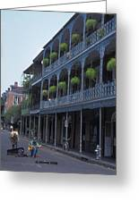 Musicians On Bourbon Street Greeting Card