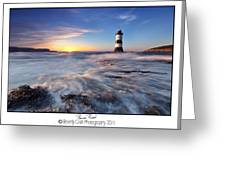 Penmon Point Lighthouse Greeting Card