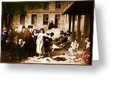 Pitie-salpetriere Hospital, 1795 Greeting Card by Photo Researchers