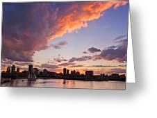 Port Of Montreal Greeting Card