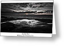 Red Rock Beach   Greeting Card