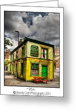 Relics - Old Pub Greeting Card