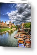River Cam - Cambridge Greeting Card